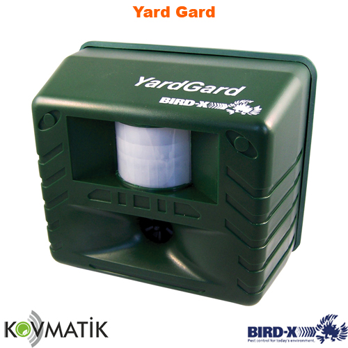 Ultrasonik Haşere Kovucu Bird-X Yard Gard