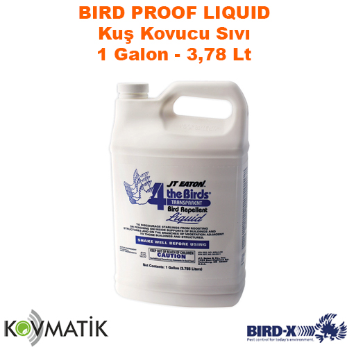 Kuş Kovucu Sıvı Bird-X Bird Proof Liquid