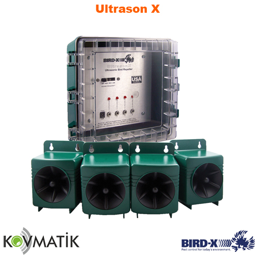 Ultrasonik Kuş Kovucu Bird-X Ultrason X